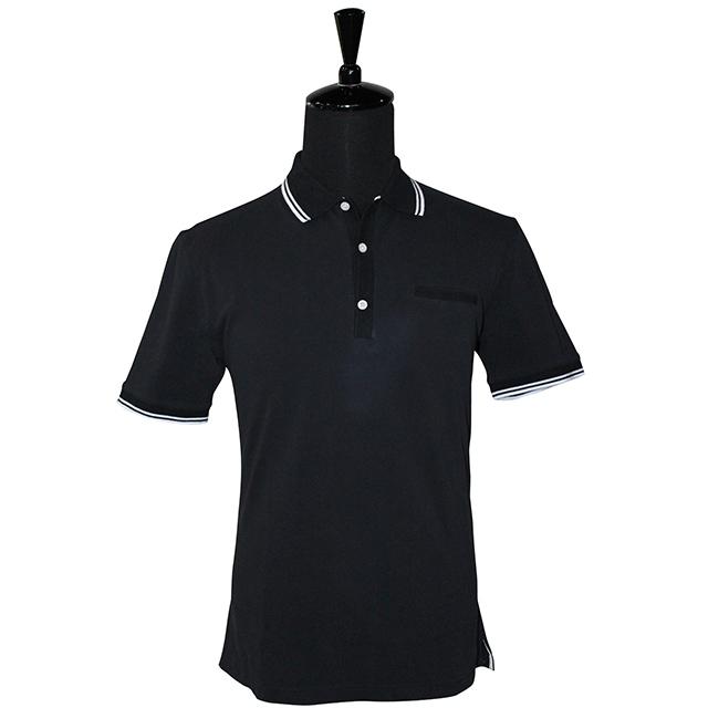 Herren Poloshirt T-Shirt Polo Polohemd Stretch Slim fit Clubwear Shirt Luxury