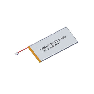 Small Lipo battery rc 3.7v cell 14.8v li polymer battery pack 7.4v 8000mah thin li-ion battery