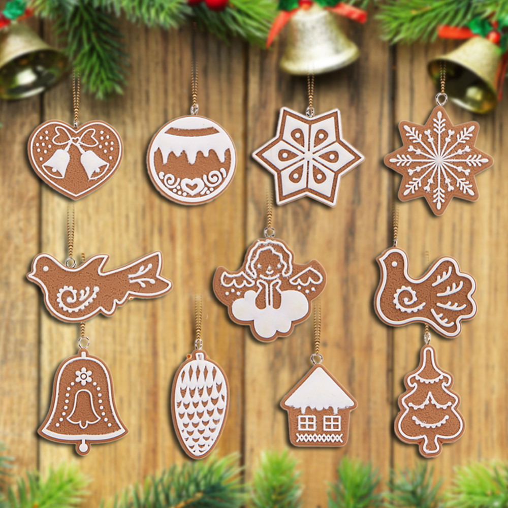 Low Price Christmas Decorations: Lowest Price With High Quality Animal Snowflake Biscuits