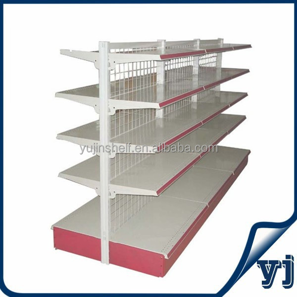 Wire supermarket shelf grocery store dispaly shelf/gondola supermarket shelf
