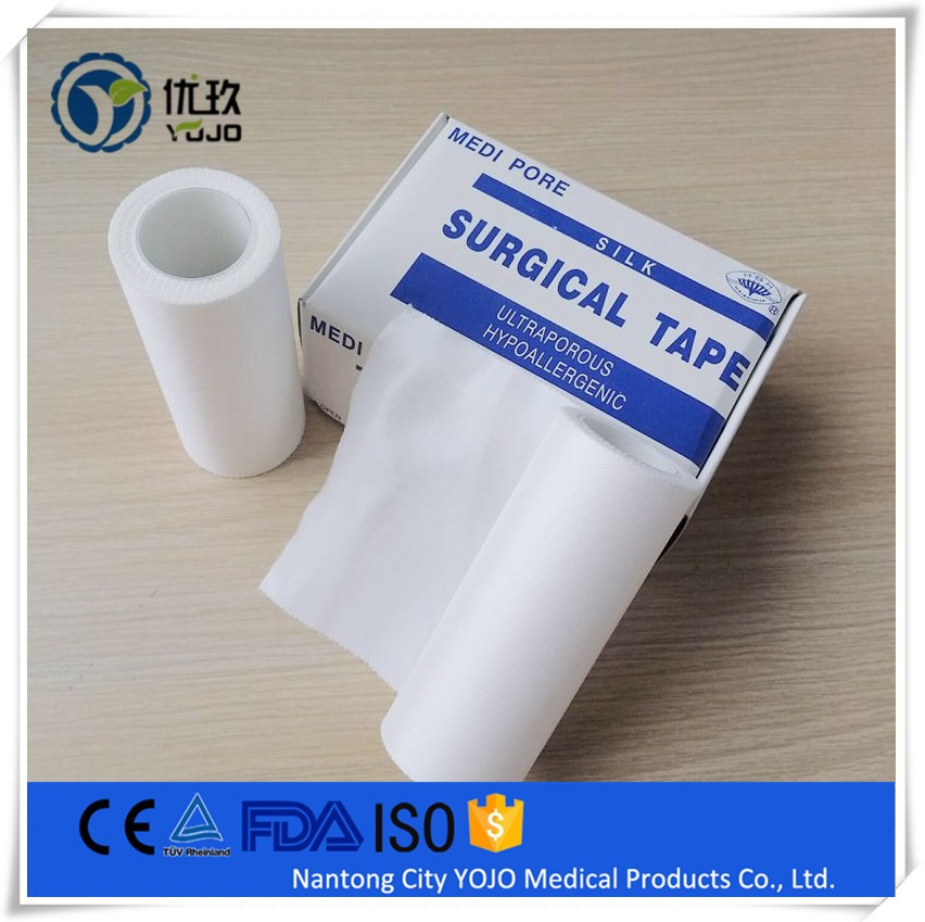 New Medical Consumable Surgical Disposable Adhesive Silk Tape