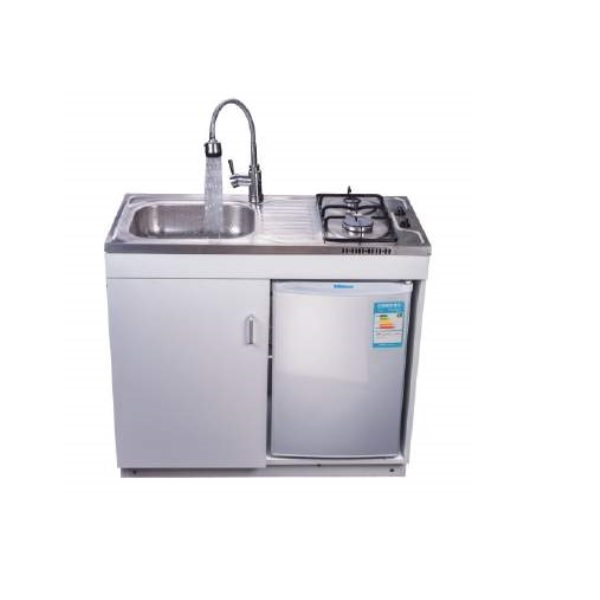 Compact Mini Kitchen All In One Tap Sink Refrigerator Fridge Cooking Zone Cabinet Buy Sink Cabinet Refrigerator Cabinet Cooking Zone Cabinet Product