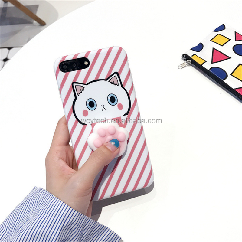 silicone phone case squishy phone case for iphone 7 6s 6Plus 7Plus soft TPU cover