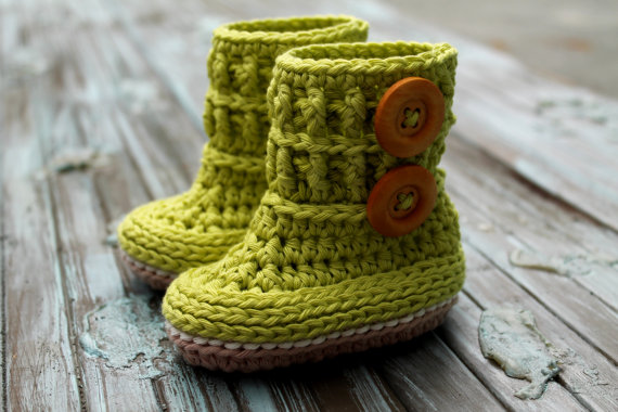 Baby Crochet Booties Promotion-Shop for Promotional Baby