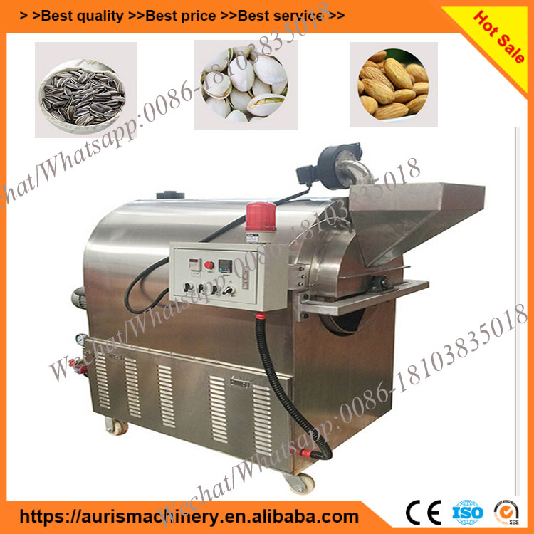 Commercial nuts roasting machine equipment/dry roasting equipment for seeds