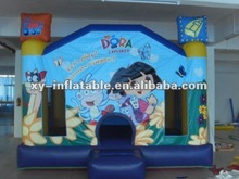 Dora inflables bouncer castillo inflable salto castillo bouncer