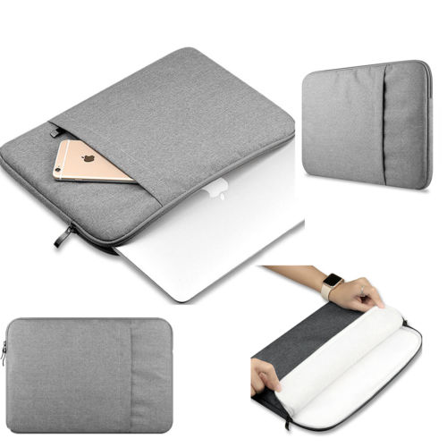 "Canvas Laptop Sleeve Case Cover Bag for Apple Macbook Air Pro13""15"""