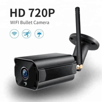 720p 1080p wi-fi telecamera waterproof outdoor wireless bullet camera support 4 real time video
