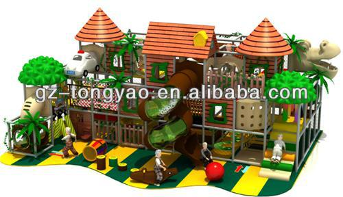 TY-14002 cheap jungle theme with dinosaur Indoor Playground