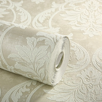 Waterproof 3d self adhesive non-woven printed wallpaper