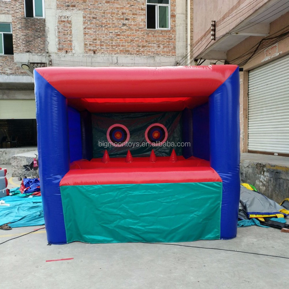 inflatable shooting games
