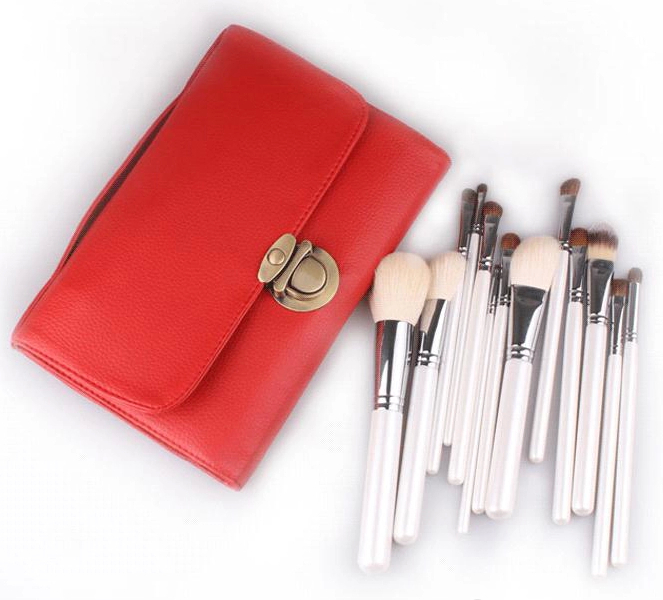 Beste kwaliteit make-up kwasten met fashion make-up borstel set
