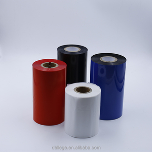 Colorful 110mm*300M Waterproof thermal transfer wax resin ribbon