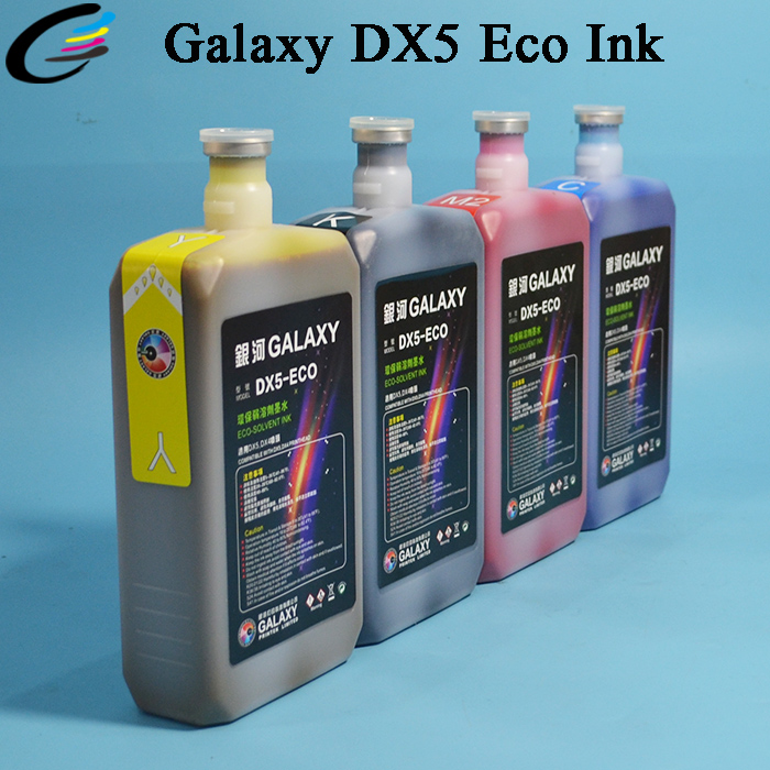 Premium Galaxy DX5 Eco Solvent Druckertinte