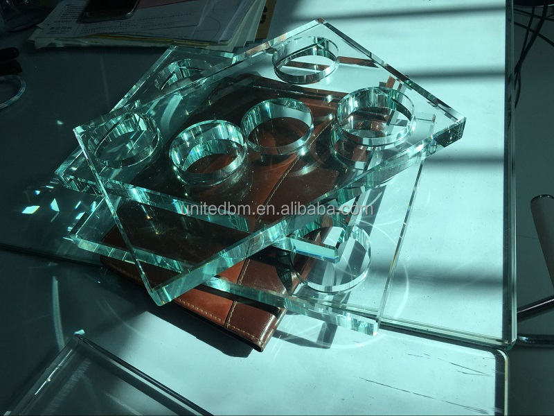 Clear Color and Crystal K9 crystal glass Material chandelier parts