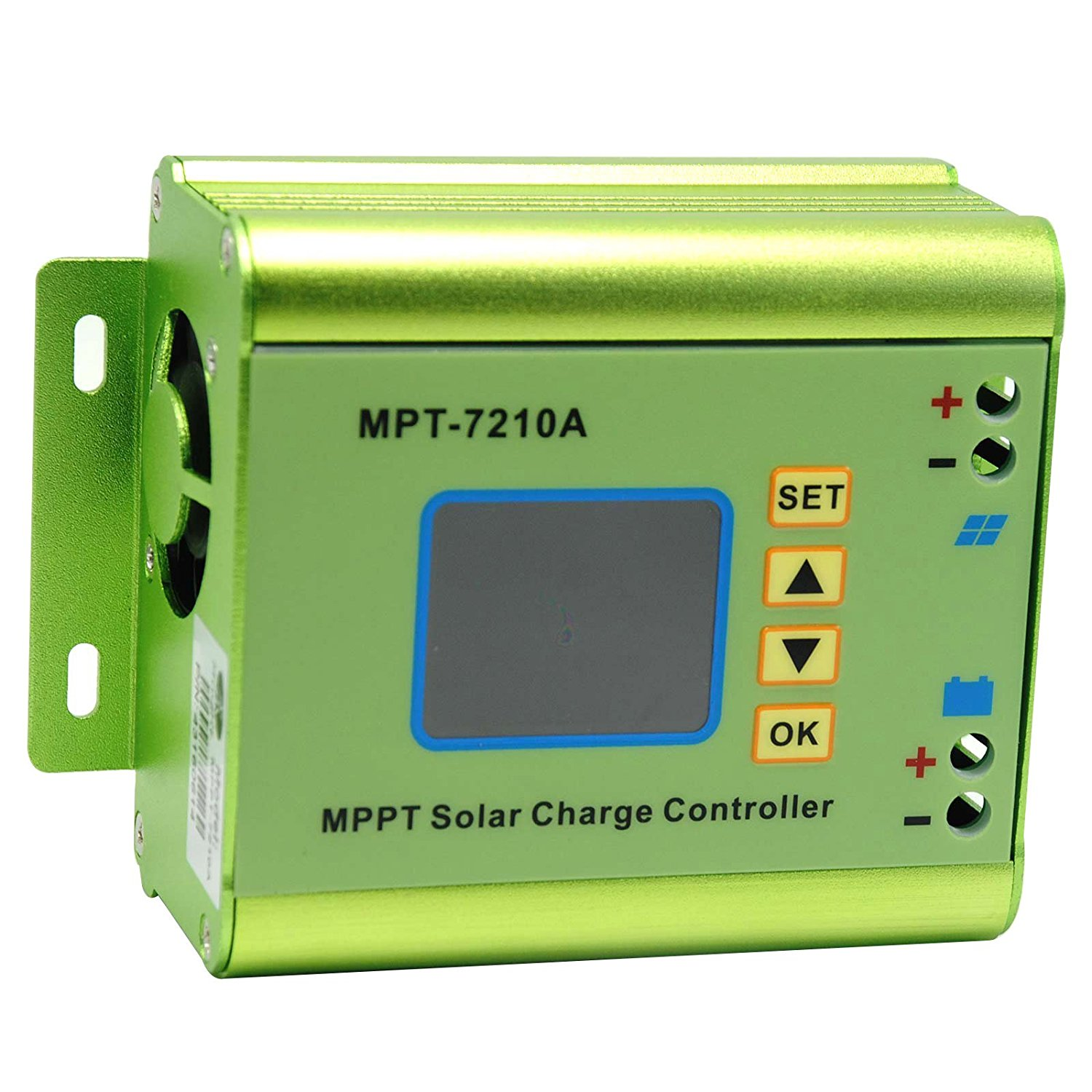 NYBG MPPT Solar Panel Battery Regulator Charge Controller for Streetlights/Household Charging System 10A