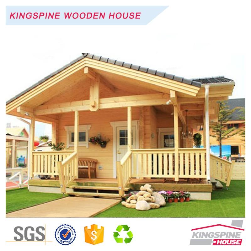 Low price 1 floor 1 bedroom prefab wooden home log house for 1 bedroom prefab homes