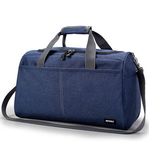 Durable nylon low MOQ weekend trolley luggage duffle bag