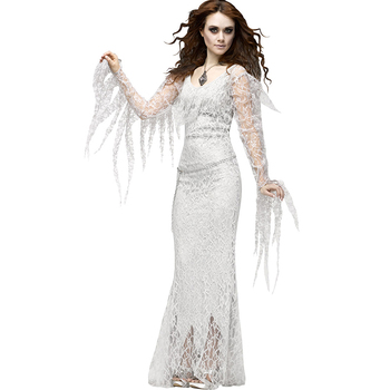 horror scary ghost bride costume halloween adult costume dress