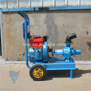 Agricultural irrigation diesel water pump unit cheap price for sale