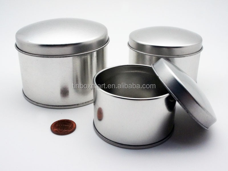 3-piece Metal Round Gift/Tea/coffee Box for Wedding
