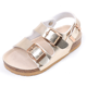 2019 New Arrival high quality Children Girls Strap Sandals with cork sole