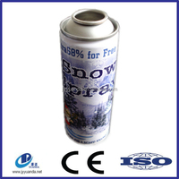 Party string color aerosol tin can/ string snow spray Cans