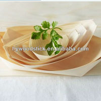 Round shaped disposable ISO9001 Eco-friendly leaf plate