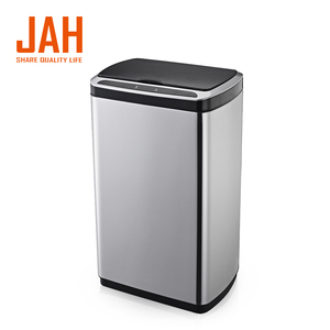 13 Gallon stainless steel smart automatic sensor trash bin
