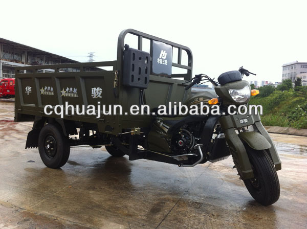 cargo carrier tricycle/motorcycle four chinese wheels/gasoline engine for bicycle