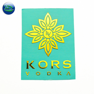 High quality custom sticker perfume bottle labels