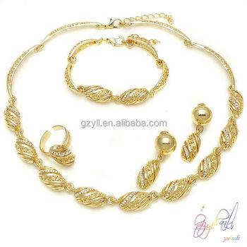 Indian Bridal Jewelry Sets Wholesale22k Gold Plated Fashion Jewelry