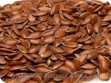 Golden and brown flax seeds / linseeds from Argentina
