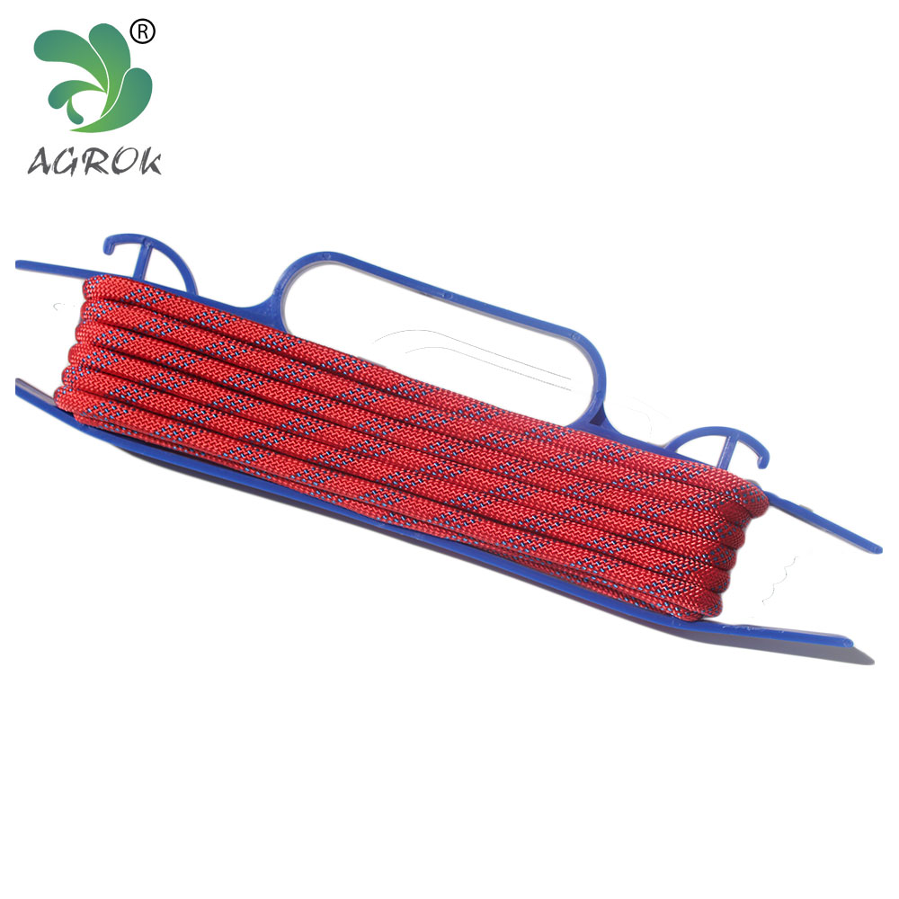 Agrok High Quality Material Nylon Double Braided Climbing Rope