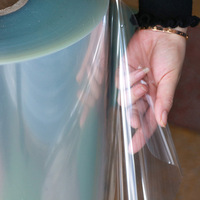 150-1200 Micron Transparent Rigid PVC Film Sheets Plastic PVC sheet Roll for Thermoforming Packaging