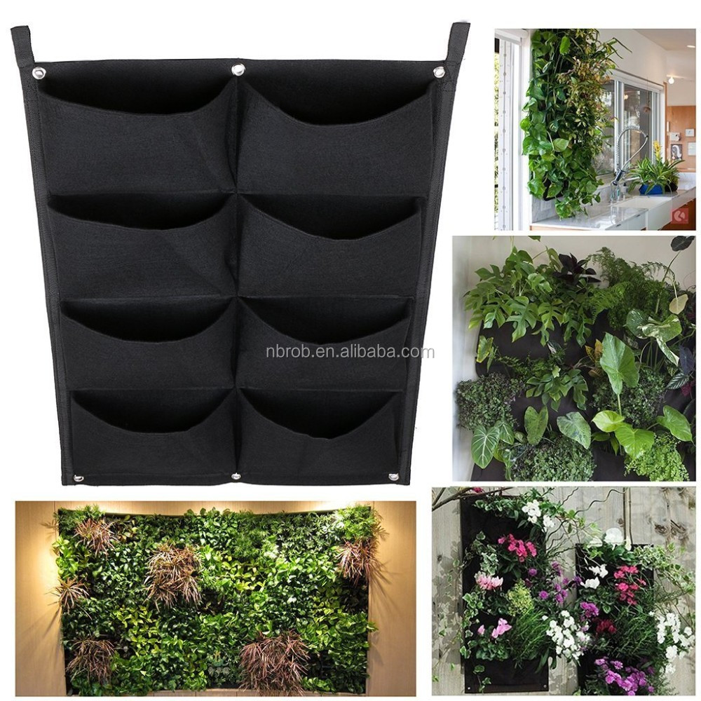 balcony wall garden Vertical Wall Garden PlanterRecycled Materials Wall Mount Balcony Plant Grow Bag For Yards Buy Recycled PlanterWall Mount PlantVertical Planter