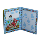 print children board book with small magnet pieces