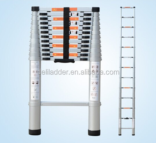 Compact Folding Adjustable Portable Aluminium Telescopic Ladder (2 Meters)