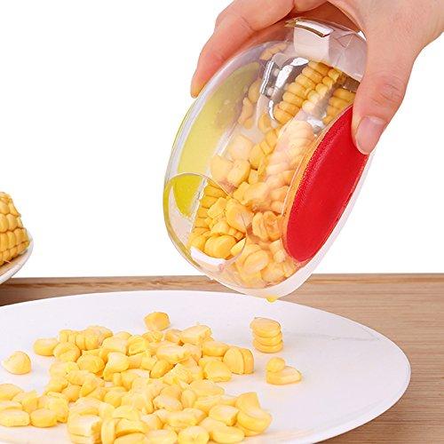 Corn Stripper, EverPlus Corn Cob Cutter Corn Peeler Cob Remover Corn Shucker Kitchen Cooking Tools with Hand Protector