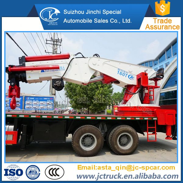2016 New left hand drive 25t hydraulic truck crane manufacturer in China