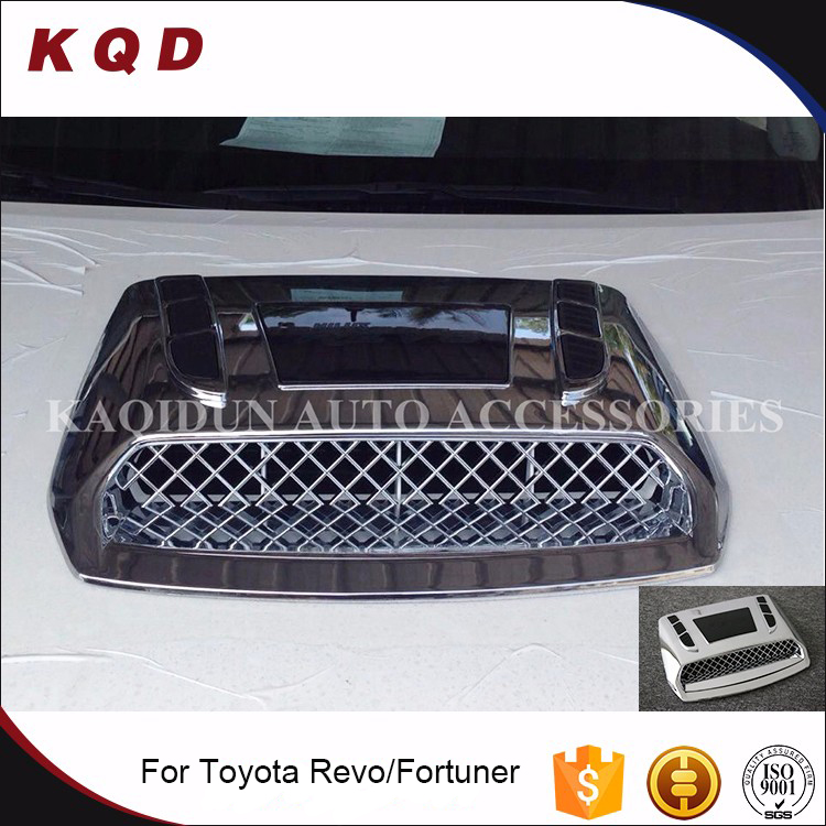 TOP SELLING auto fortuner accessories perfect fitment engine hood cover for toyota fortuner 2016