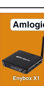 2017 ENYBOX X1 S905X Andriod 6.0 TV Box 1G/2G RAM Quad Core 2.4G/5G Wifi 4K OTT Smart TV Box