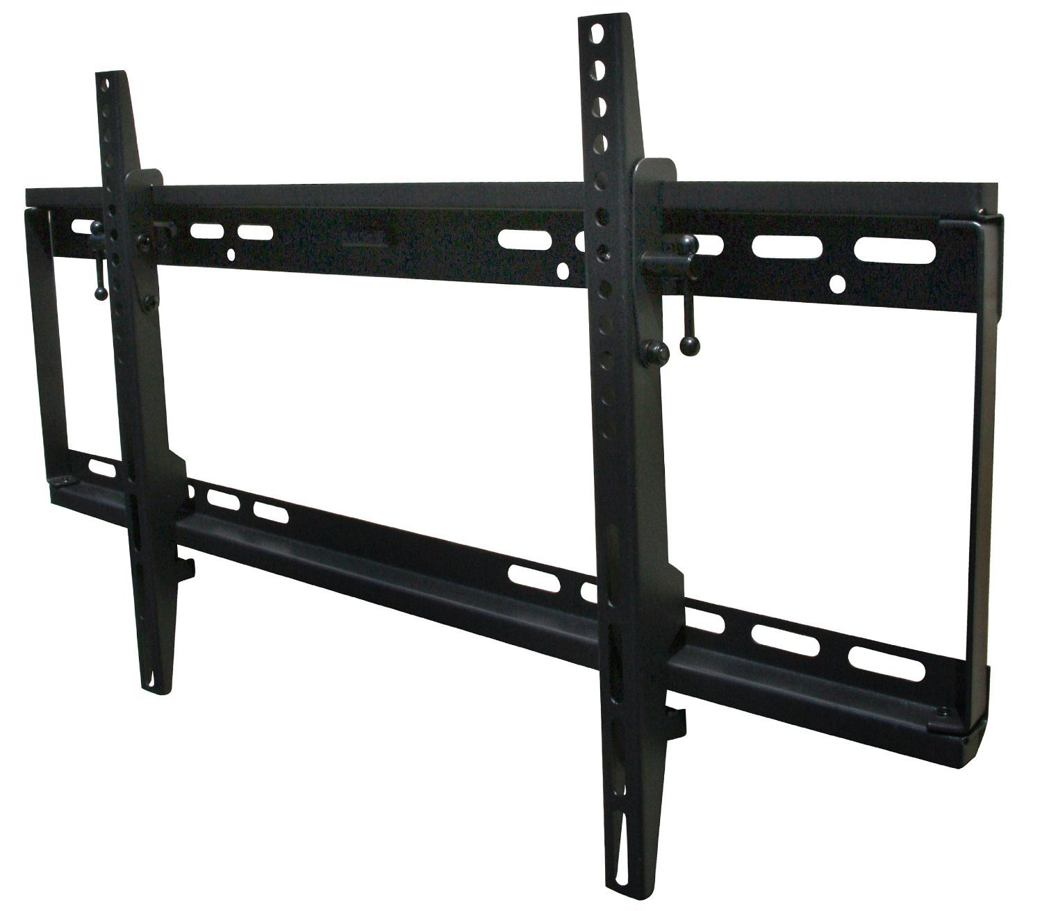 Mount-it! MI-1121M-CBL TV Wall Mount Bracket Low Profile Tilt Design for 32 to 65 Inch LCD/LED/4K TVs, VESA 600x400 mm (MI-1121M)