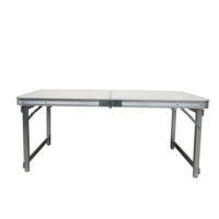 Portable Aluminum folding camping picnic table for outdoor beach