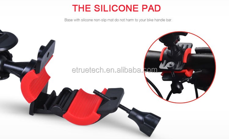 360 Degree Universal ETRUE Bike Bicycle Phone Holder Handlebar Mount Motorcycle Phone Holder For iPhone for Samsung GPS
