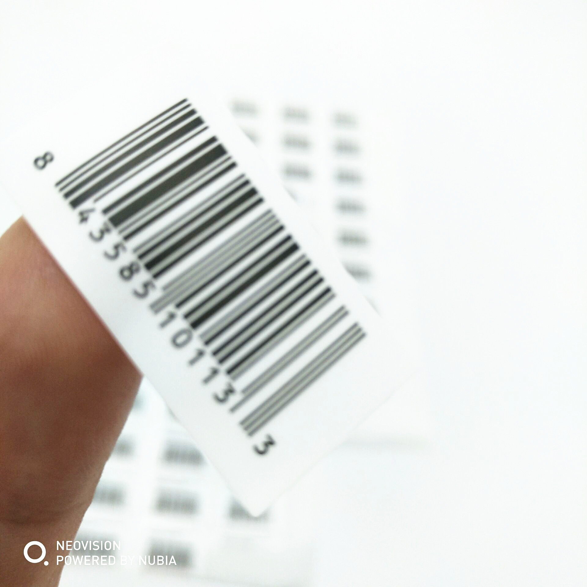 Private Thermal Transfer Roll Coated Blank Barcode Self Adhesive Label