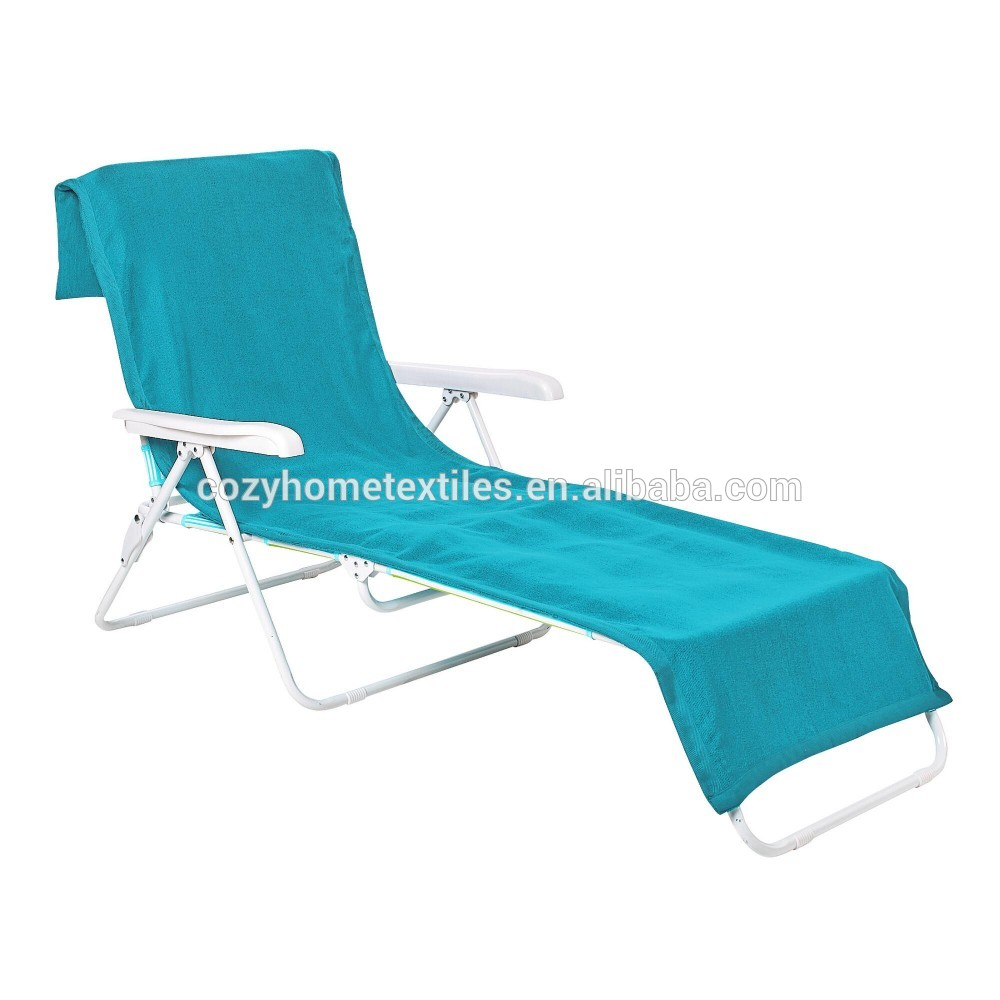 2017 top quality hot sale fashion chair beach towel for Beach towel chaise lounge cover