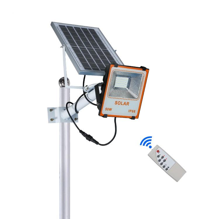Super bright energy saving ip66 outdoor 50w 100w 150w led solar flood light