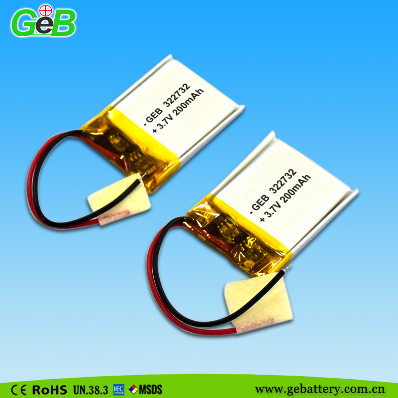Li- Po Battery 3.7V 200mAh for Truck Toys High Performance Hot selling