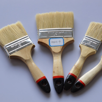 Hot Sale Wooden Handle Paint Brush 100% Bristle Hair Oil Paint Brush In Brush 663